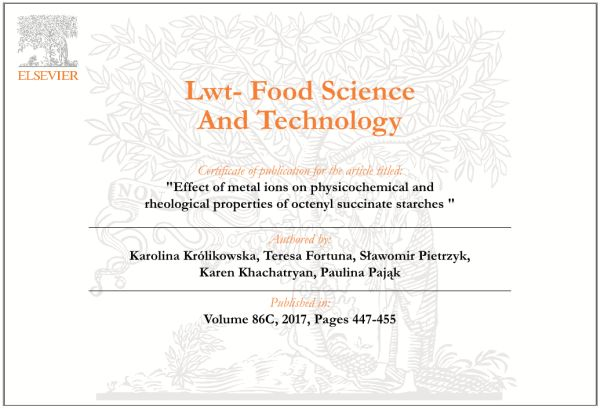 Khachatryan - physicochemical and rheological properties