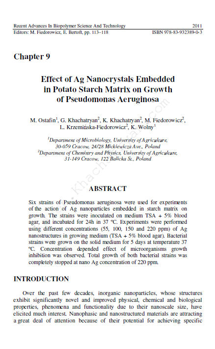 Khachatryan - Effect of Ag nanocrystals..
